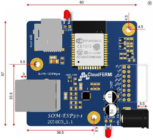 Module ESP32 SOM-ESP32-1